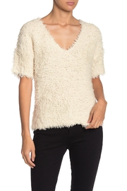 Nation LTD Paris V-Neck Sweater - Front cropped