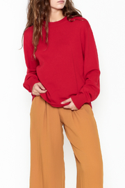 National Cashmere Round Neck Cashmere Sweater - Product Mini Image