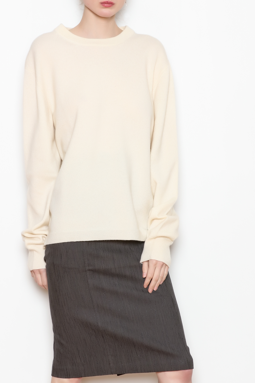 National Cashmere Roundneck Cashmere Sweater - Main Image