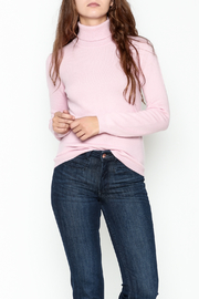 National Cashmere Turtleneck Cashmere Sweater - Front cropped