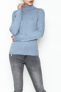 National Cashmere Turtleneck Cashmere Sweater - Product List Image