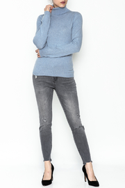 National Cashmere Turtleneck Cashmere Sweater - Side cropped