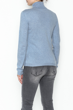 National Cashmere Turtleneck Cashmere Sweater - Alternate List Image