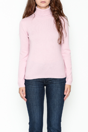 National Cashmere Turtleneck Cashmere Sweater - Front full body