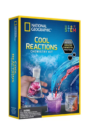 National Geographic : Cool Reactions Chemistry Kit - Product Mini Image