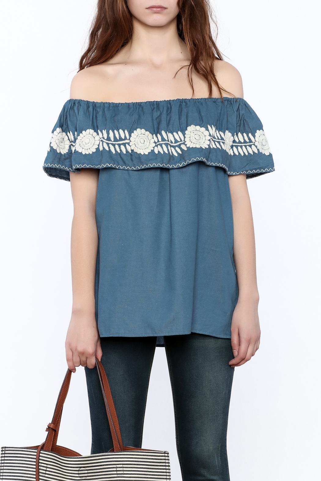 Nativa Four-Way Blouse - Side Cropped Image