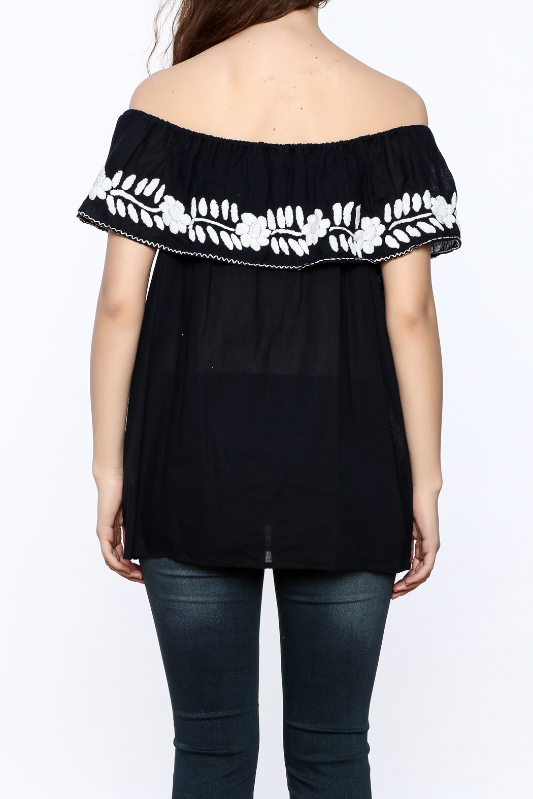Nativa Four-Way Blouse - Back Cropped Image