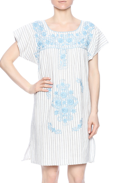 Shoptiques Product: Embroidered Linen Dress