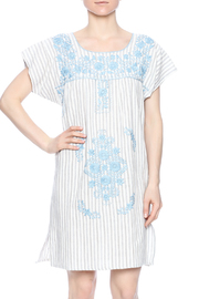 Nativa Embroidered Linen Dress - Product Mini Image