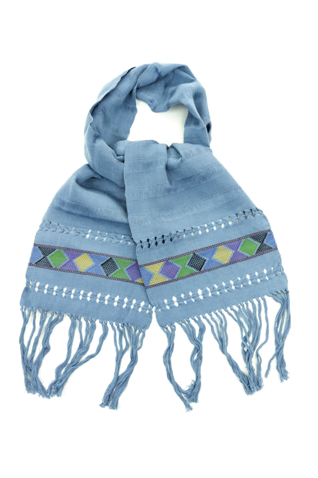 Nativa Handwoven Scarf - Main Image
