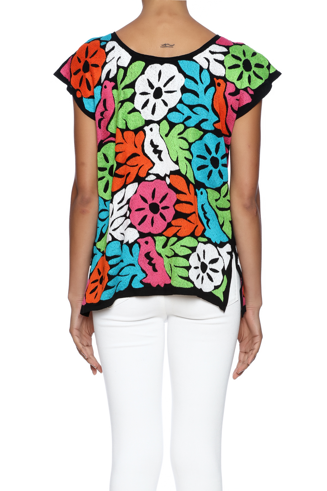 Nativa Jalapa Blouse - Back Cropped Image