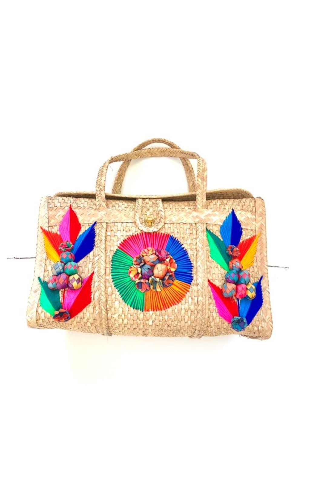 Nativa Large Artisan Tote - Main Image