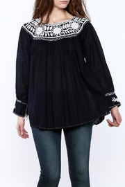 Nativa Round Neck Blouse - Product Mini Image