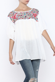 Nativa White Lolita Blouse - Product Mini Image