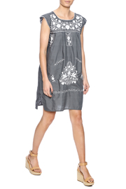 Nativa Mexican Puebla Dress - Front full body