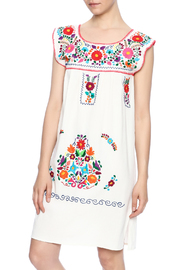 Nativa Mexican Puebla Dress - Front cropped