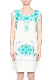 Nativa Mexican Puebla Dress - Side cropped