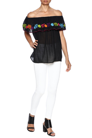 Nativa Mexican Vuelo Blouse - Front full body
