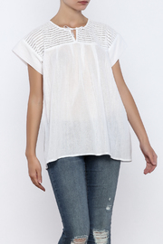 Nativa White Mia Blouse - Product Mini Image