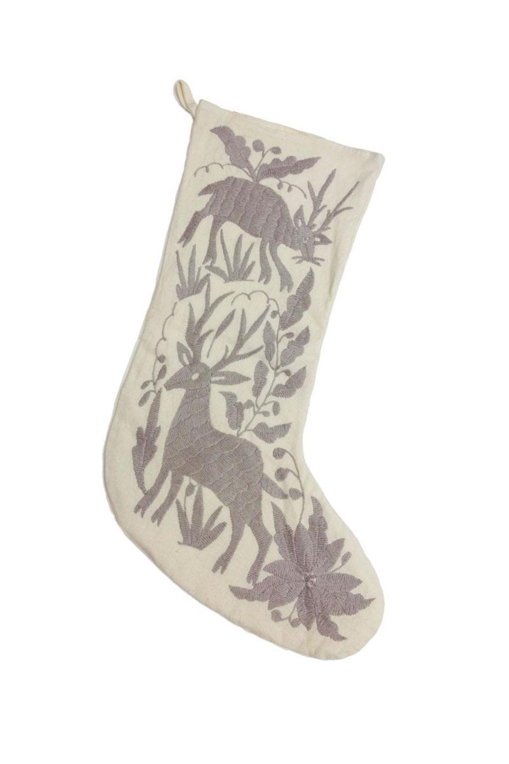 Nativa Otomi Embroidered Stockings - Main Image