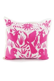 Nativa Otomi Natural-Pink Pillow - Product Mini Image