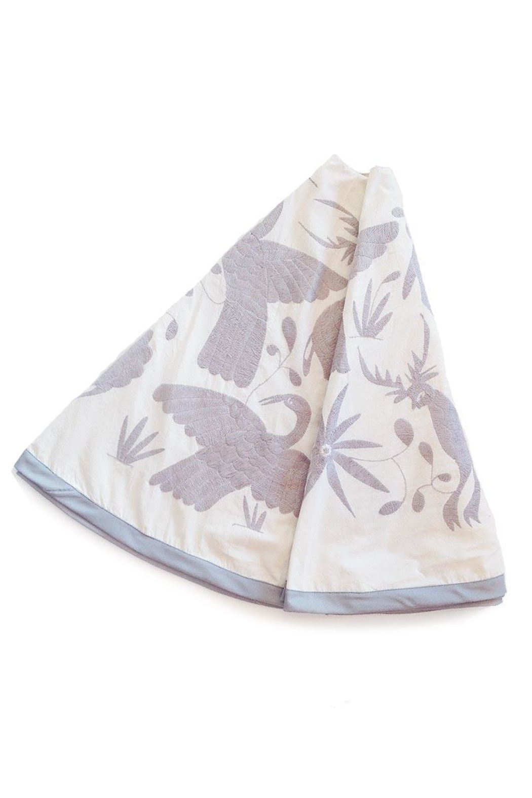 Nativa Otomi Tree Skirt - Front Cropped Image