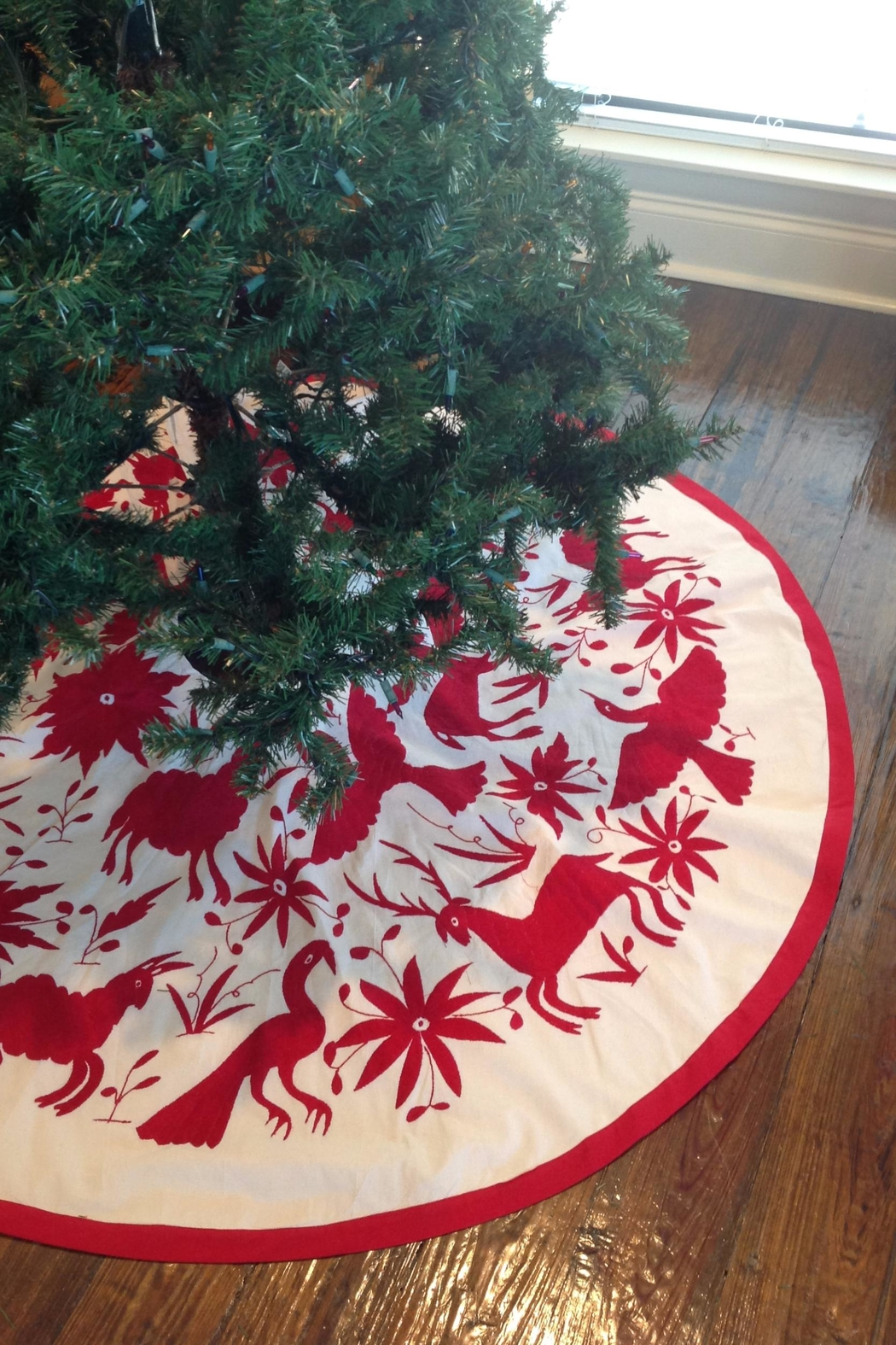 Nativa Otomi Tree Skirt - Side Cropped Image