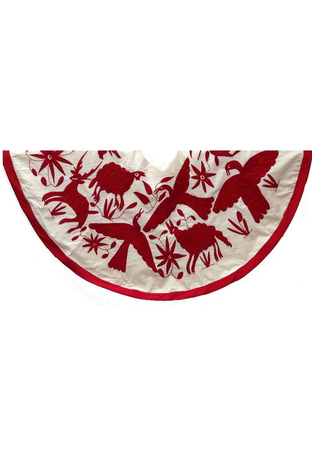 Nativa Otomi Tree Skirt - Front Full Image