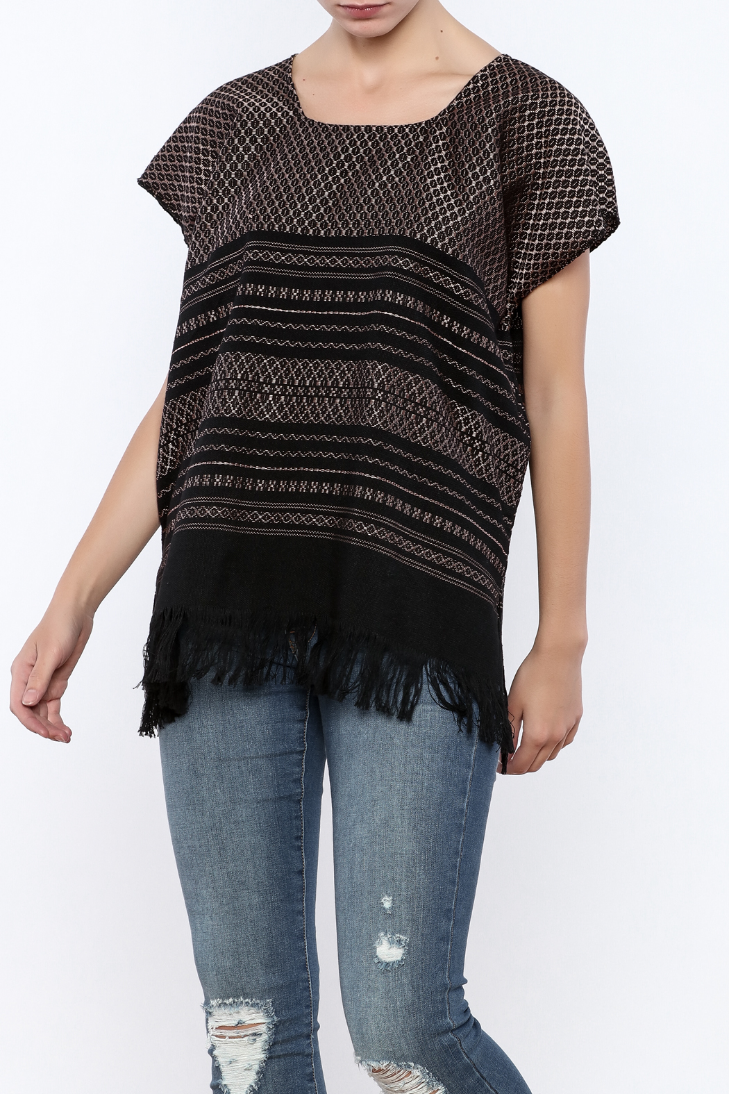 Nativa Pina Blouse - Front Cropped Image