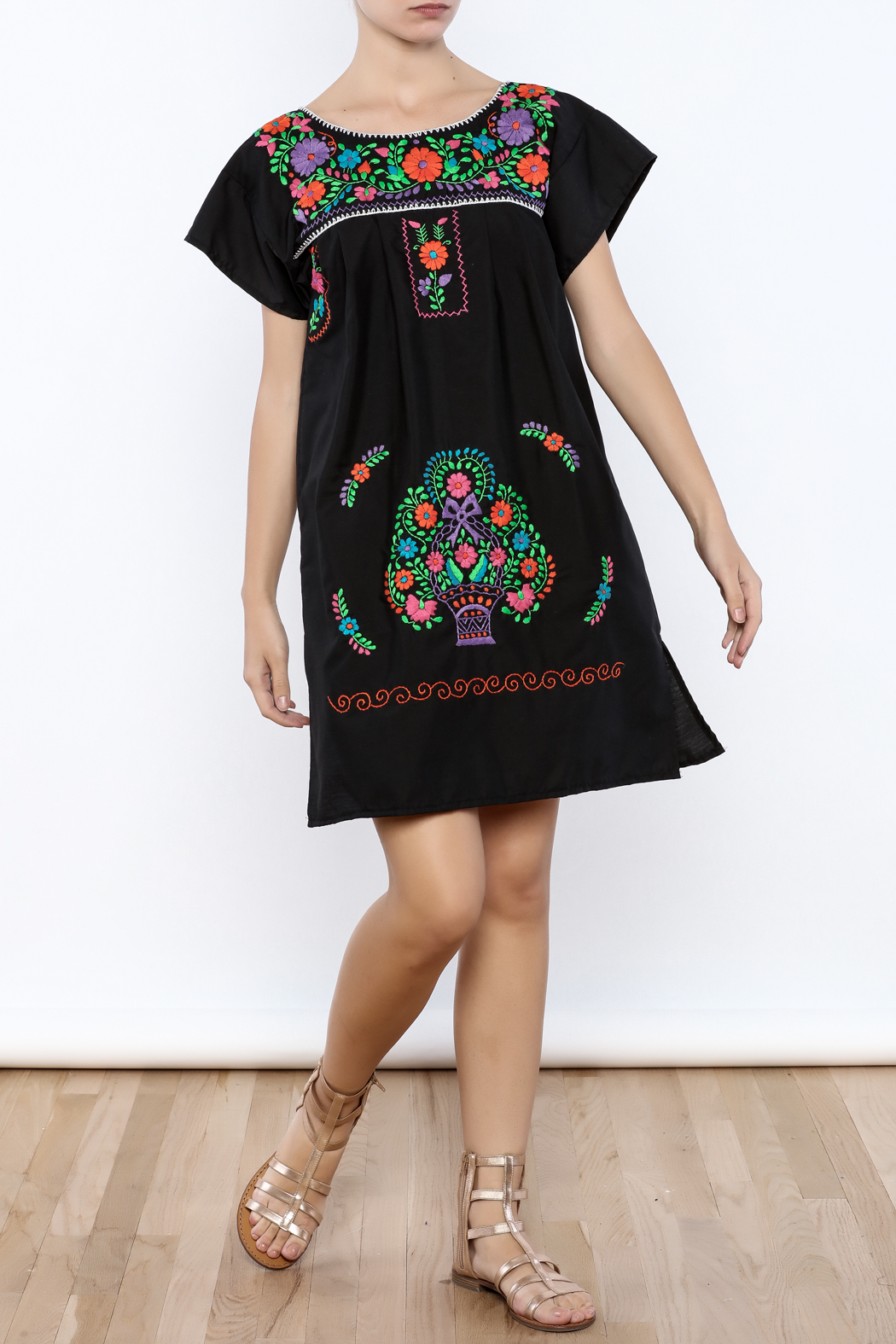 Nativa Puebla Mini Dress - Front Full Image