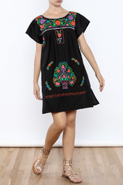 Nativa Puebla Mini Dress - Front full body