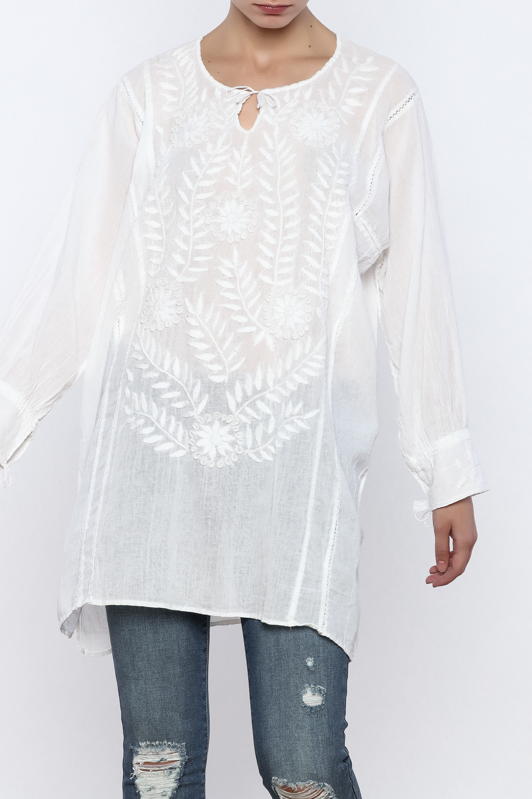 Nativa Rosa Blouse - Main Image