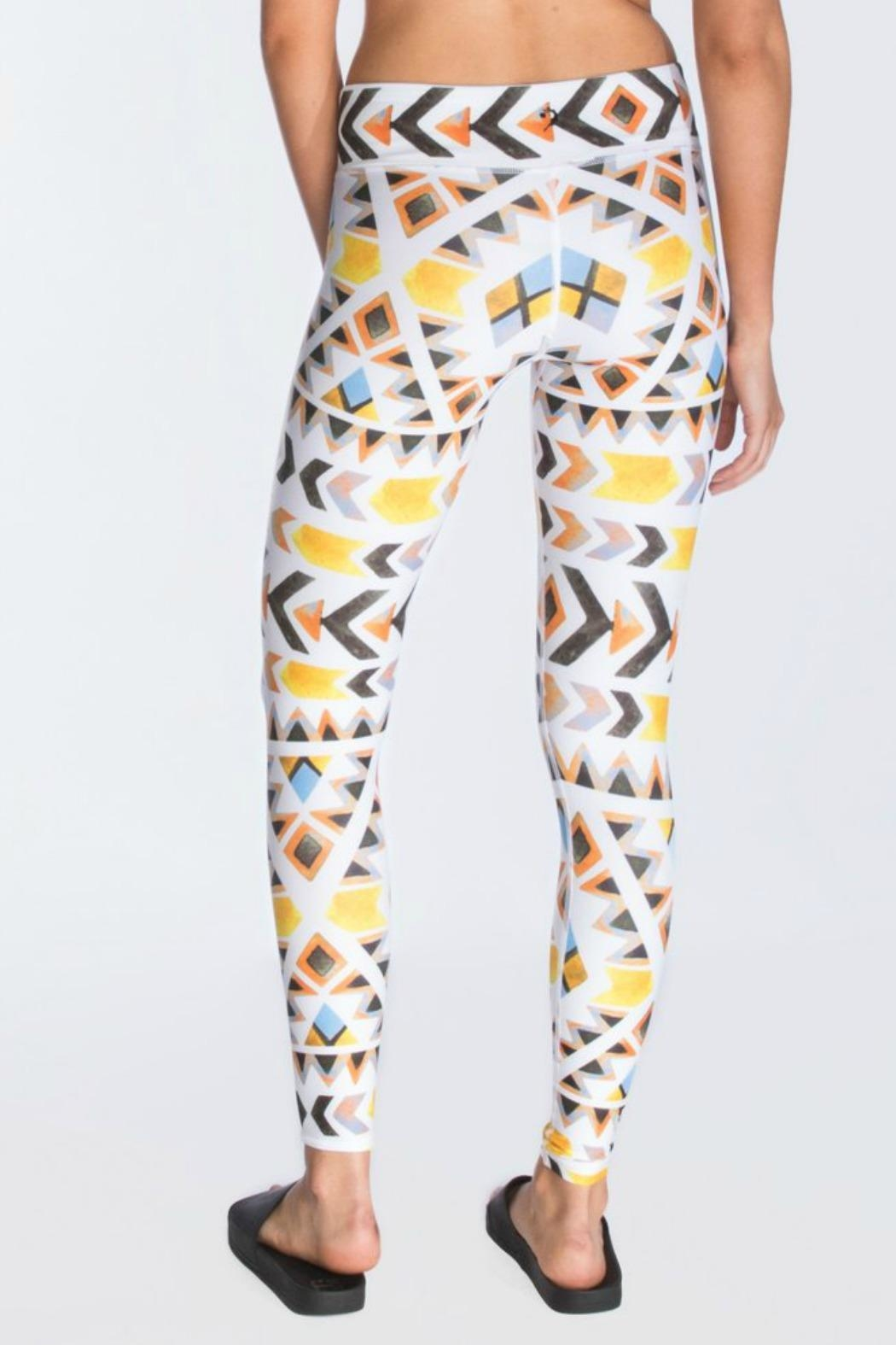 CHRLDR Native Printed Legging - Front Full Image