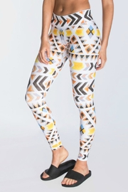 CHRLDR Native Printed Legging - Front cropped