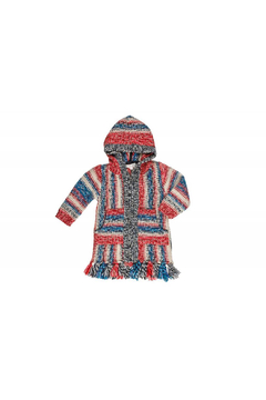 Mimi & Maggie Native Stripe Zip Front Hoodie - Product List Image