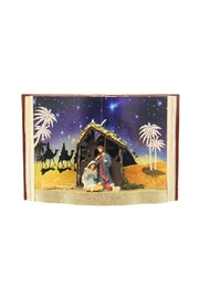Giftcraft Inc.  Nativity Book Scene - Product Mini Image