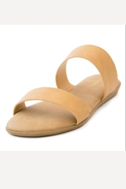 Bamboo Natural Classic Sandals - Front cropped