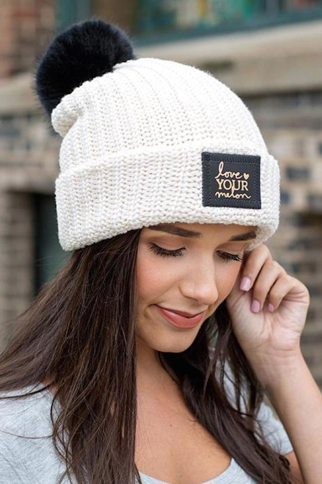 ff21ef6bddf47 Love Your Melon Natural Foil Pom from New Jersey by Barefoot ...