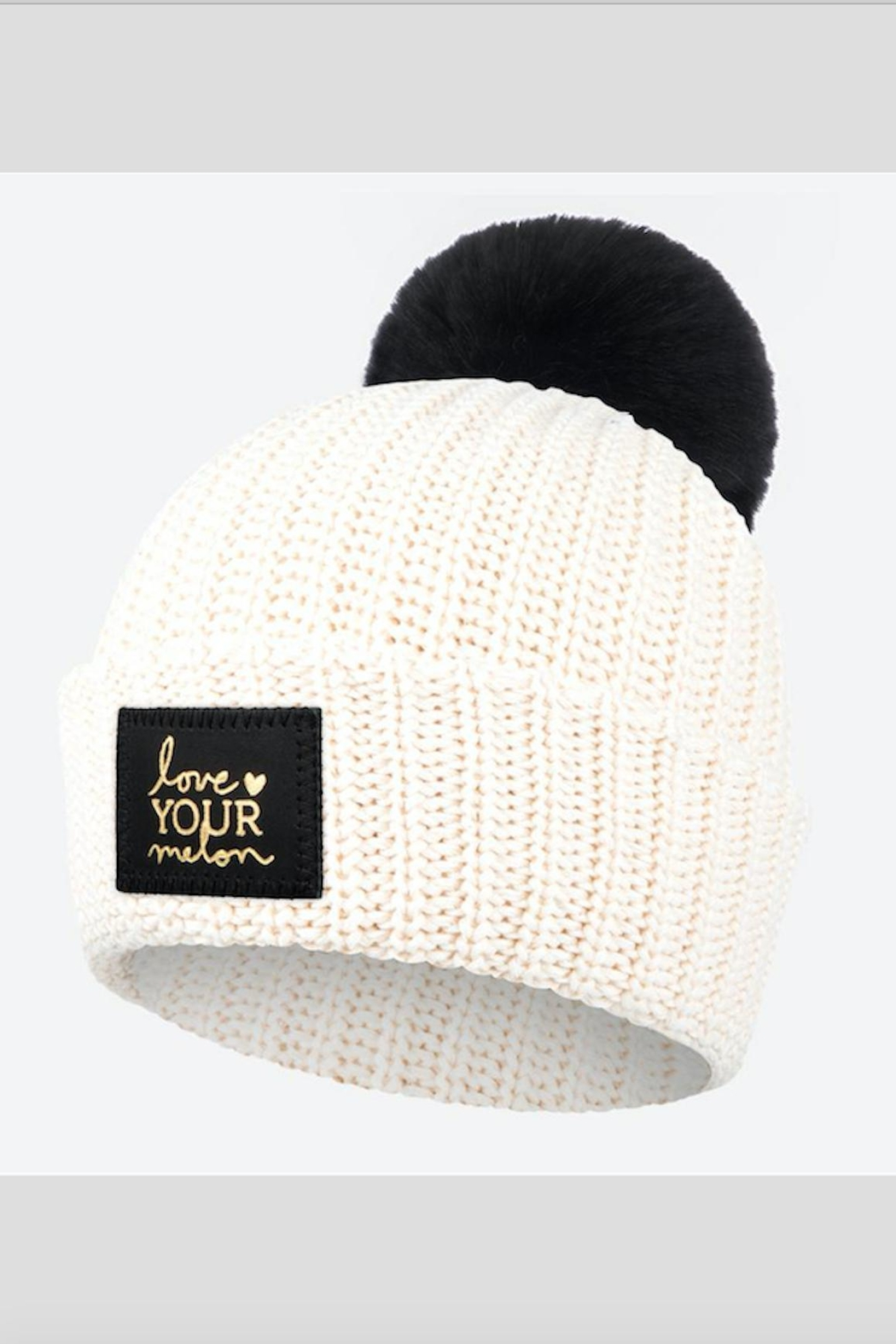 7265906c16b51 Love Your Melon Natural Foil Pom from New Jersey by Barefoot ...