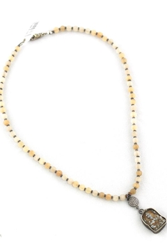 Slate Gray Gallery Natural, Hematite Necklace - Product List Image