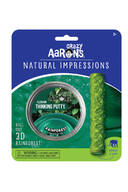 Crazy Aaron's  Natural Impressions Illusion Putty: Rainforest - Side cropped