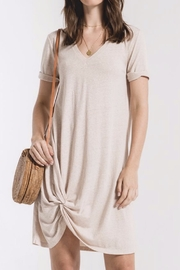 Zsupply Natural Knotted Dress - Product Mini Image