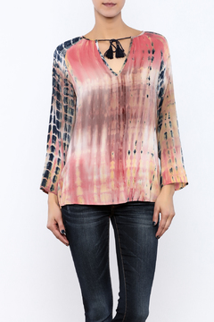 Natural Life Tie Dye Blouse - Product List Image