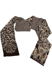 Green 3 Natural Owl Scarf - Product Mini Image