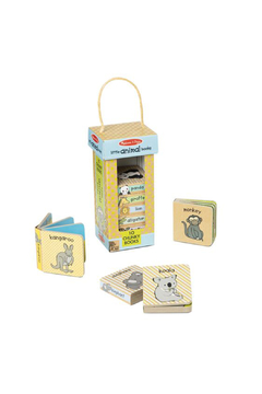 Melissa and Doug Natural Play Book Tower: Little Animal Books - Product List Image