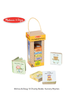 Melissa and Doug Natural Play Book Tower: Little Nursery Rhymes - Product List Image