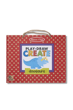 Melissa and Doug Natural Play: Play, Draw, Create Reusable Drawing & Magnet Kit - Dinosaurs - Product List Image