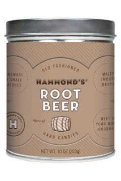Hammond's Candies NATURAL ROOT BEER DROPS - Product List Image