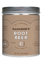 Hammond's Candies NATURAL ROOT BEER DROPS - Front cropped