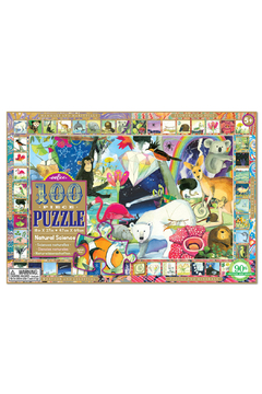 Eeboo Natural Science 100 Piece Puzzle - Product List Image